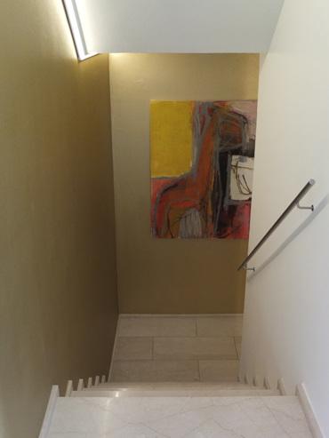 Im Badezimmer Wurde Die Whirlpoolwanne Durch Eine Grosszügige Duschenanlage  Ersetzt. Der Duschenboden Besteht Aus Einer Monolithischen Natursteinplatte  (180 ...