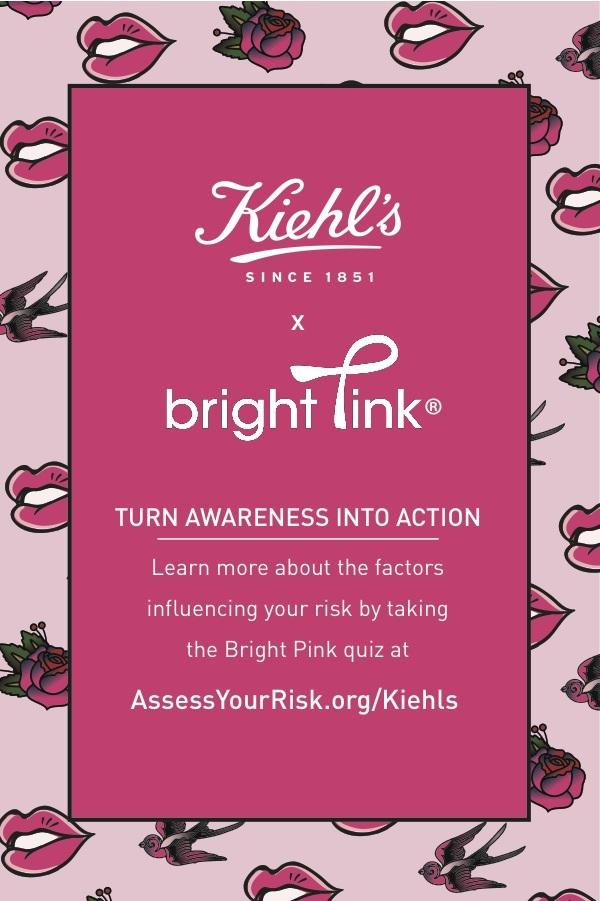Kiehl\'s Breast Cancer Awareness Postcard, 2017 - kara neff